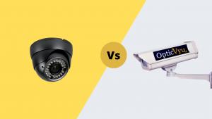 Construction vs cctv camera