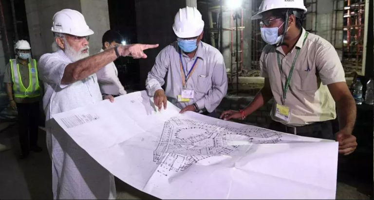 pm modi on new parliament building construction